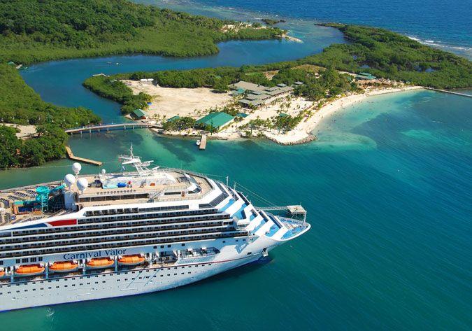 CruisePortInsider.com - Roatan Cruise Ship Schedule - 2016 |Roatan Carnival 2016