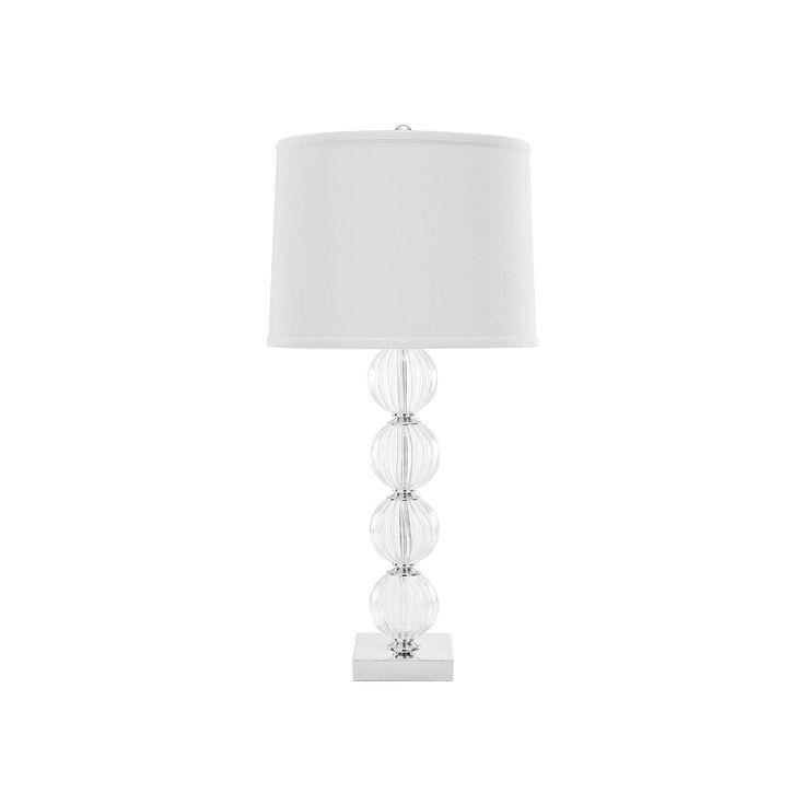 Safavieh Amanda Glass Globe Lamp, White