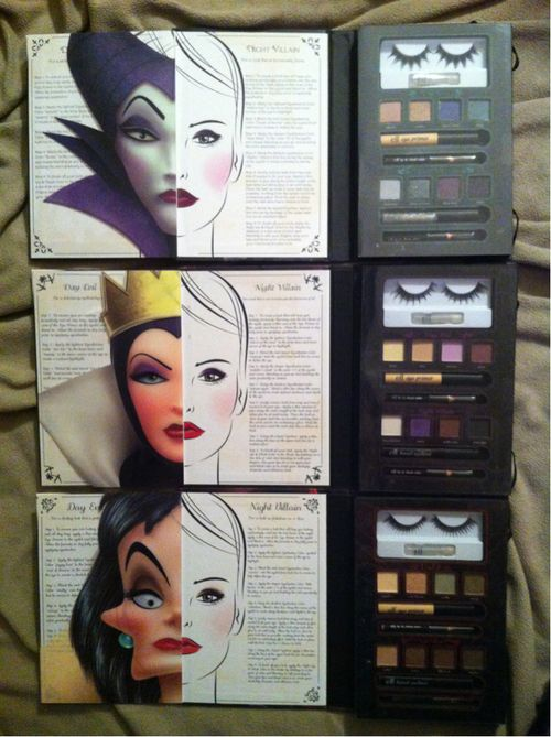 Disney Villains Beauty Collection, available exclusively in Walgreens stores. where's the princess collection?!?!?