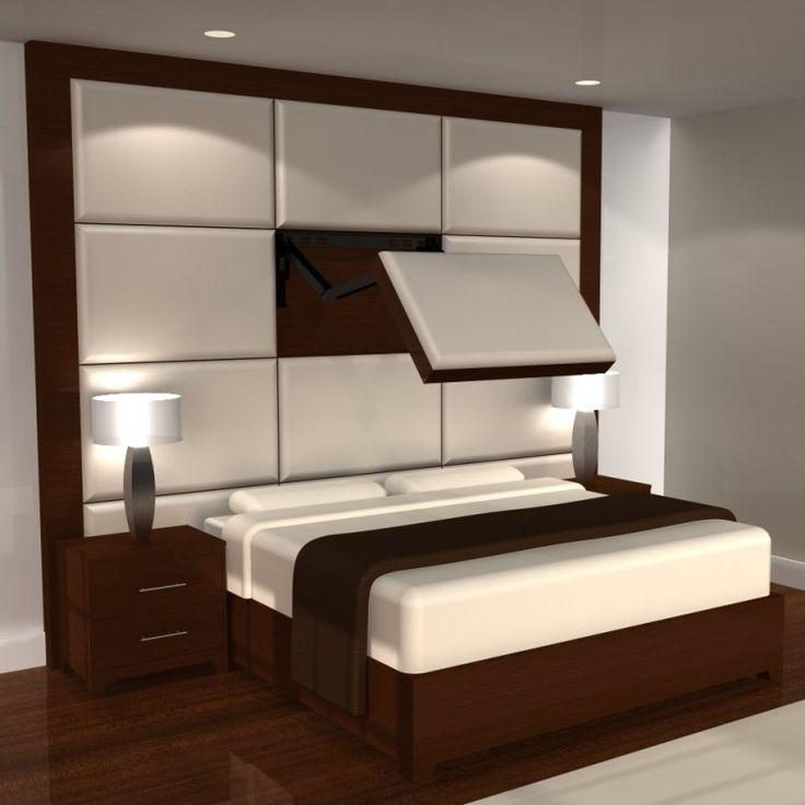 29 best Hidden Vision TV-Mirror images on Pinterest Mirror tv - tv in bedroom ideas