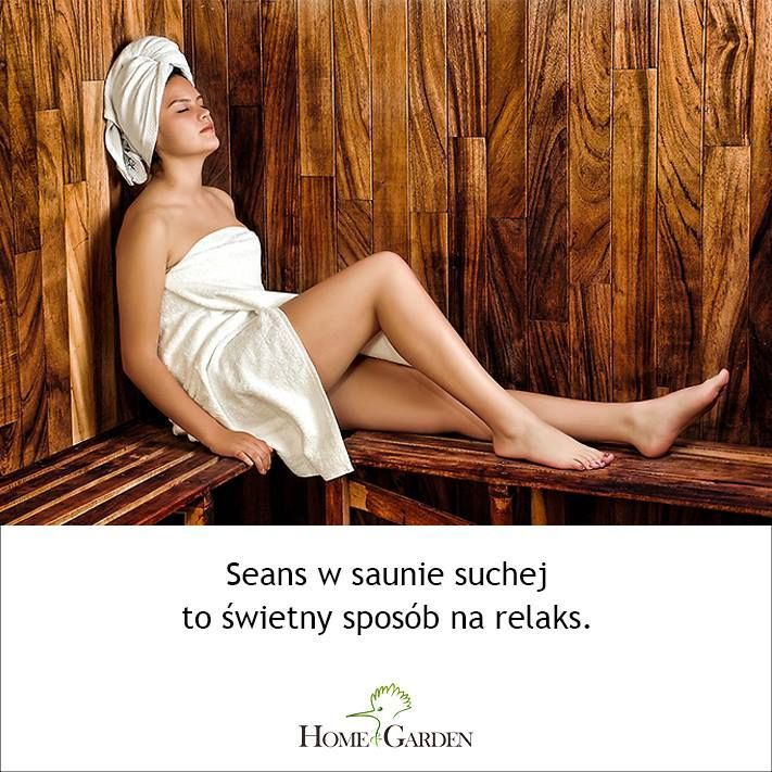 Sauna fińska i sauna infrared - relaks w domu.