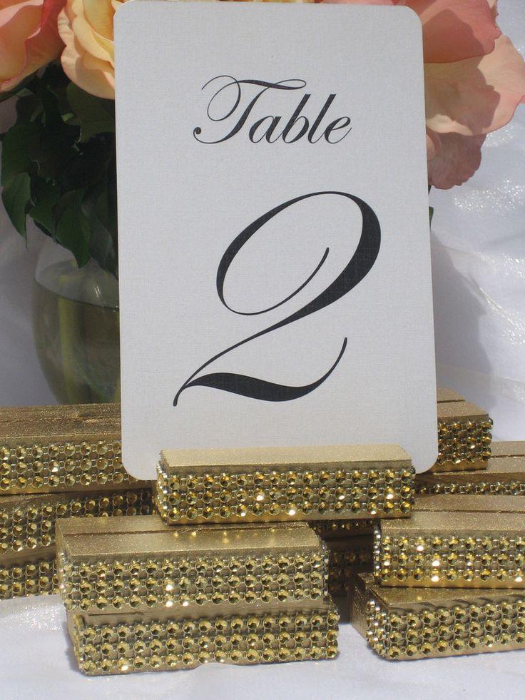 Best 25+ Table number holders ideas on Pinterest | Wedding ...