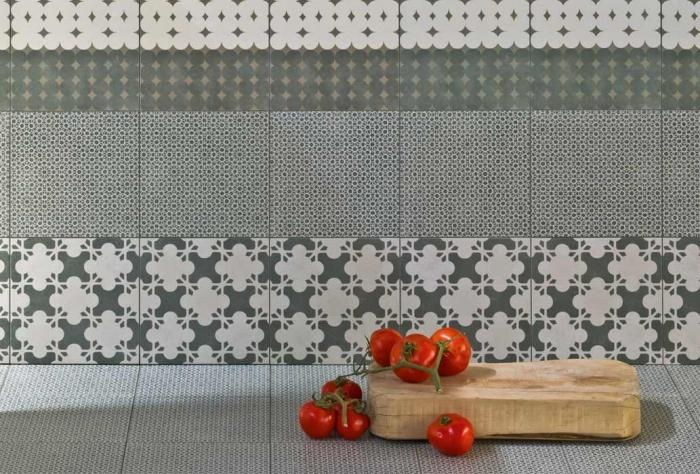 Azulej tiles by Patricia Urquiola for Mutina Handmade tiles can be colour coordinated and customized re. shape, texture, pattern, etc. by ceramic design studios
