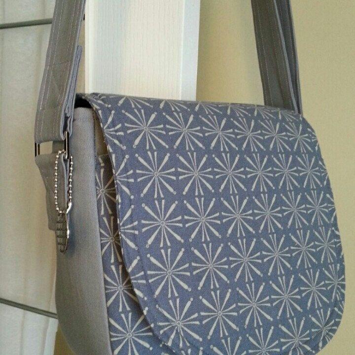 Custom order  for Rhea..loving Swoonpatterns Sandra saddle bag