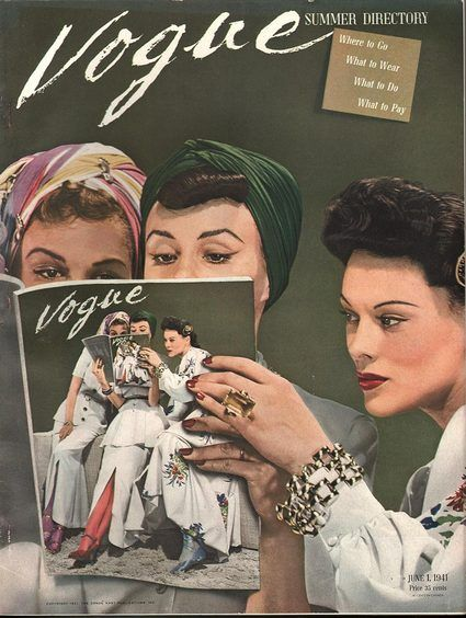 Vogue June 1 1941                                                                                                                                                                                 More