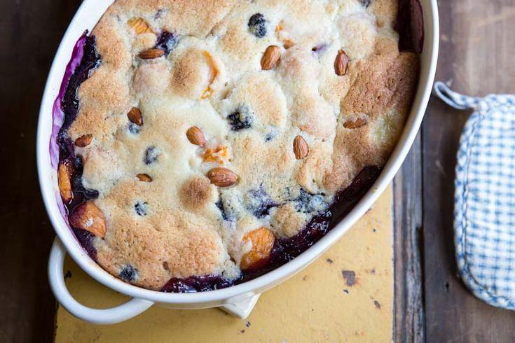 Blueberry Apricot Cobbler Recipe
