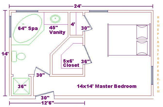 Superior Google Image Result For Http://www.brandsconstruction.com/Images/Bathroom  Design Ideas/10x14 Master Bath Ideas/14x14 Master Bedroom Floor Plan.