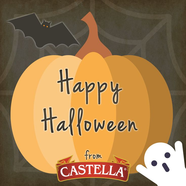 Happy Halloween from Castella!