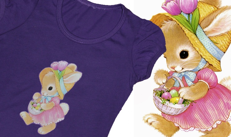 Little Miss Bunny, Easter Tee  http://www.madeit.com.au/storecatalog.asp?userid=38690
