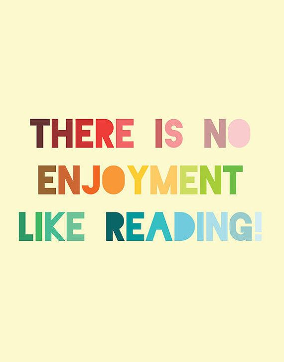 Jane Austen Print  Reading Quote  Pride and Prejudice by LitPrints