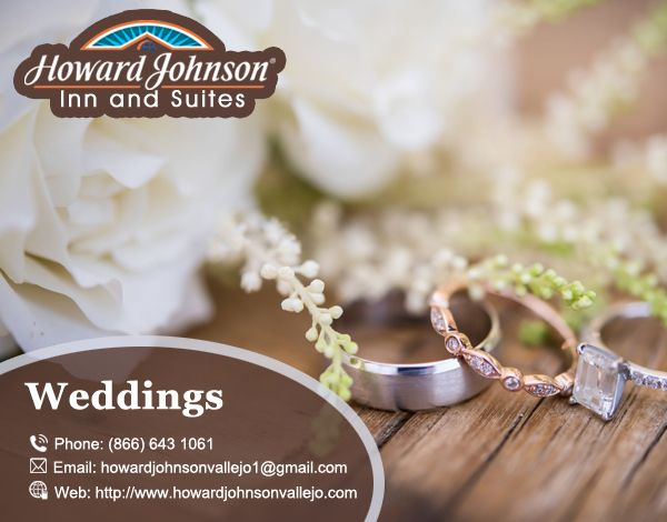 Howard Johnson Vallejo is the best place for your #Wedding Visit At:- http://bit.ly/2xuT4Bg