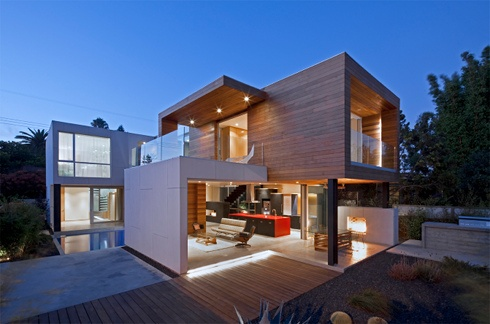 Superba house by minarc made with prefab panels and - Idea casa biancheria mestre ...