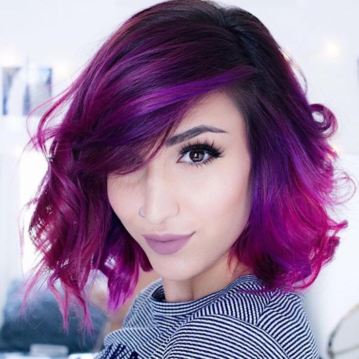 """18k Likes, 75 Comments - Vegan + Cruelty-Free Color (@arcticfoxhaircolor) on Instagram: """"Purple perfection  @sandsleekmakeup  Recreate this awesome shade with Purple Rain and Violet…"""""""