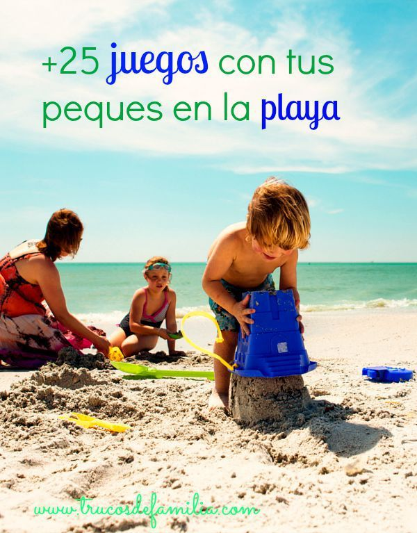 +25 juegos en la playa con los peques