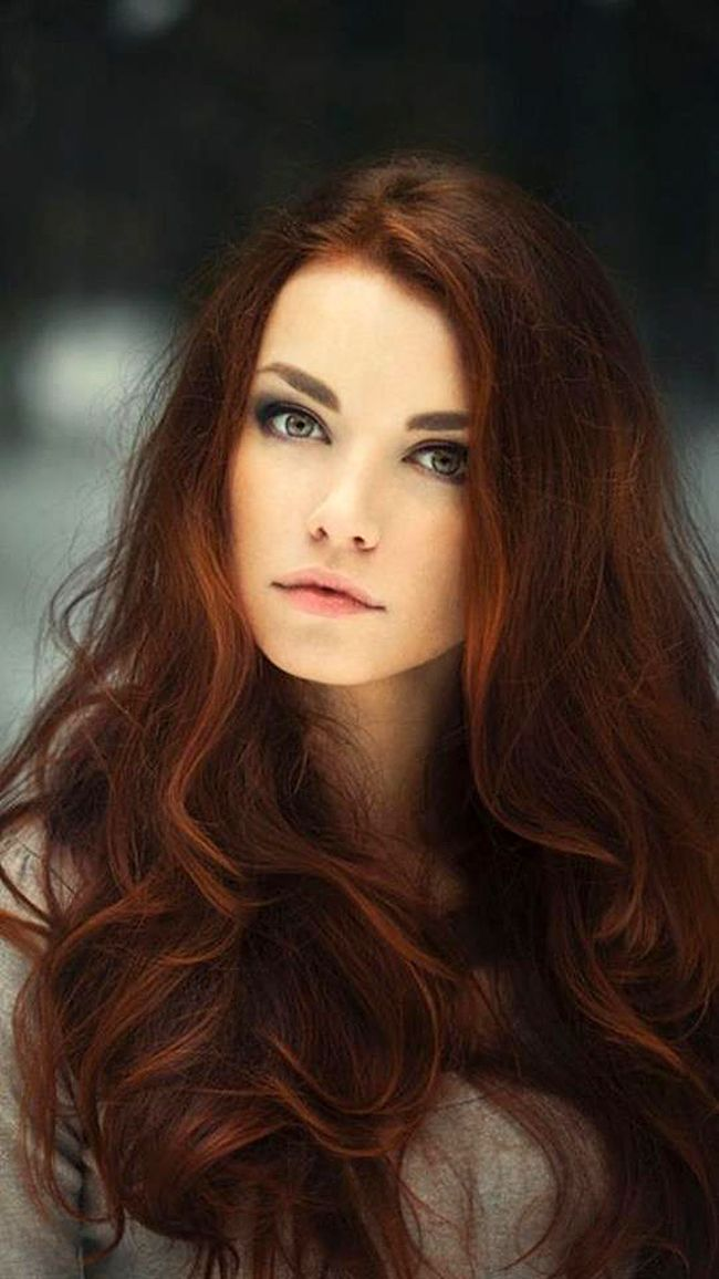 Celtic beauty - Gorgeous hair color and style