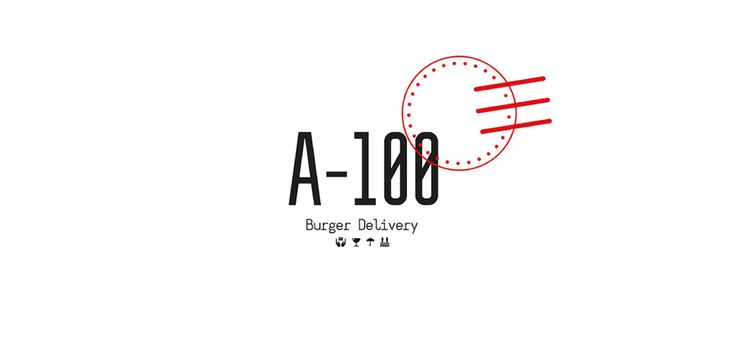 A-100 Burger Delivery — The Dieline - Branding & Packaging