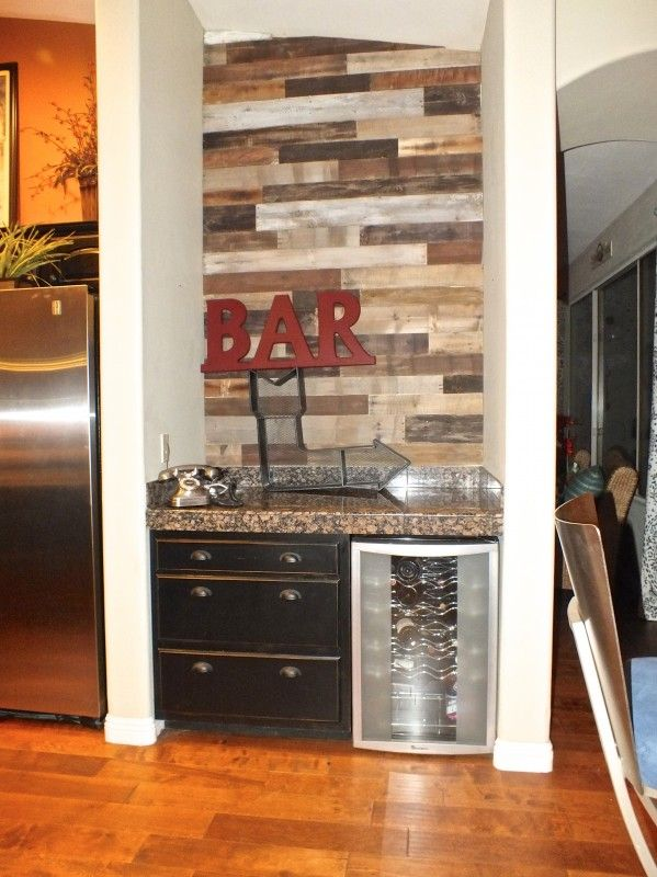 Home Bar Wall Shelves