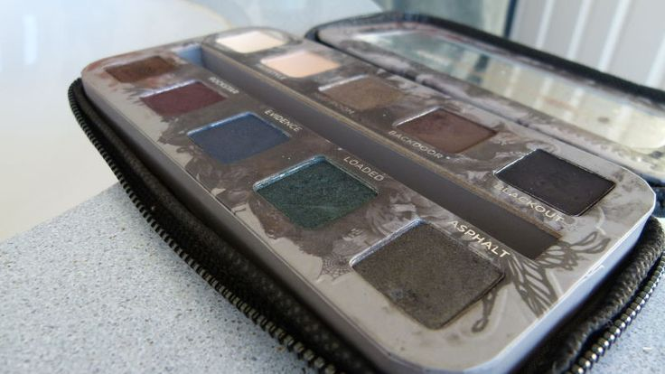 Look and learn: The Urban Decay Smoked Palette.