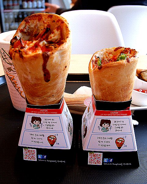 Pizza Cones, OH. MY. GOD.