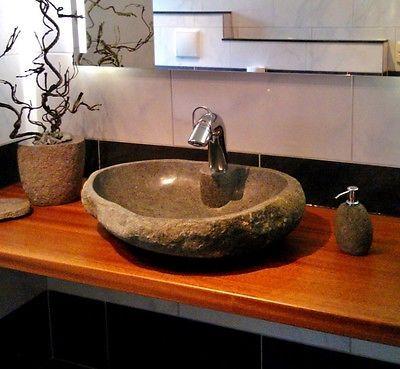 die 25 besten ideen zu naturstein waschbecken auf. Black Bedroom Furniture Sets. Home Design Ideas