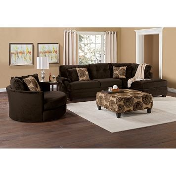 American Signature Furniture - Cordoba II Upholstery 2 Pc. Sectional and Cocktail Ottoman $1299.98  sc 1 st  Pinterest : cordoba 2 piece sectional - Sectionals, Sofas & Couches