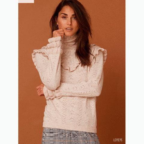 Love & Divine - Bluse Knit (love95)- Campagne