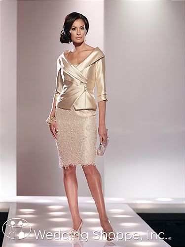 Social Occasions by Mon Cheri Mother of the Bride Dresses 114808