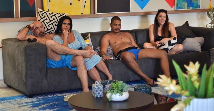 Gretchen com Carlos Marques e Simony com Patrick Souza est