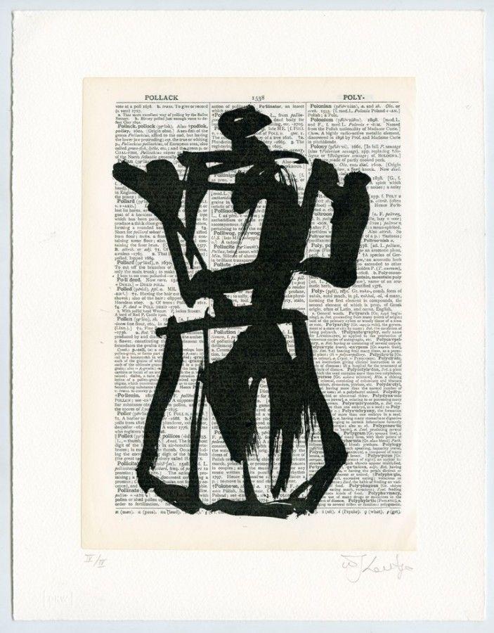 William Kentridge | Universal Archive (Ref. 1) | 2012. Linocut