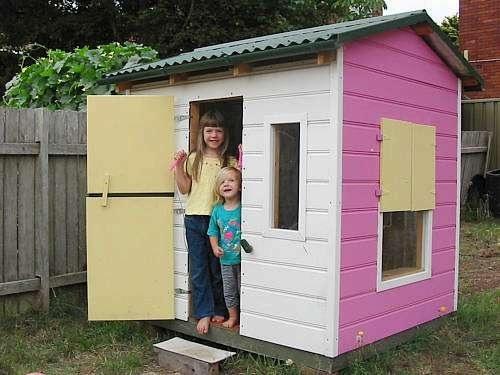 22 Best Cubby House Decoration Ideas Images On Pinterest