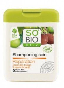 Kremowy szampon regenerujący z olejekiem #arganowym #SoBio wygładza odstające kosmyki rozdowojonych włosów oraz odbudowuje zniszczone i podatne na złamania włosy.
