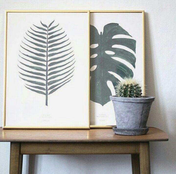 Leaf art, Plant Prints - By Garmi   Photo by: It's My Passions