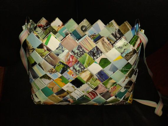 Unique colourful lacquered hand made purse. by eenahbags on Etsy, $49.00
