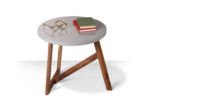 Swoon Editions Mid-century side table in grey – just £79