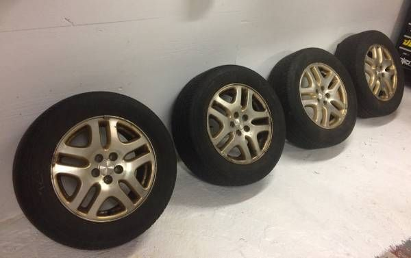 Subaru Outback Wheels and Tire Set (Andover, MA) $300