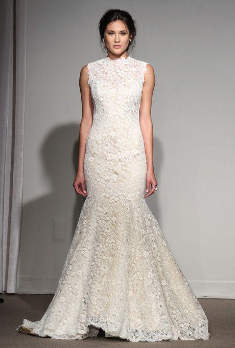Gemma, $6500, Anna Maler/Ulla-Maija                 Brides: Lace Wedding Dresses from Spring 2013 | Wedding Dresses | Brides.com