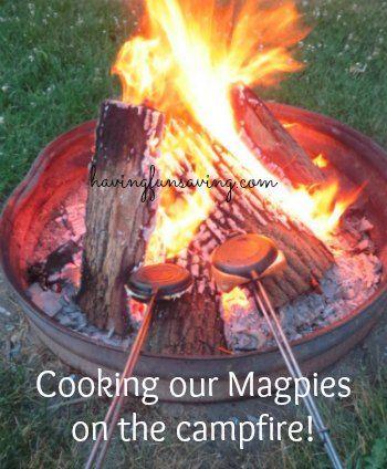 Pizza Magpies Recipe – AKA HOBO Pies #camping