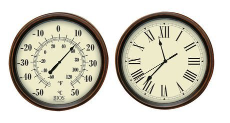 Decorative Thermometer and Clock Set | Walmart.ca