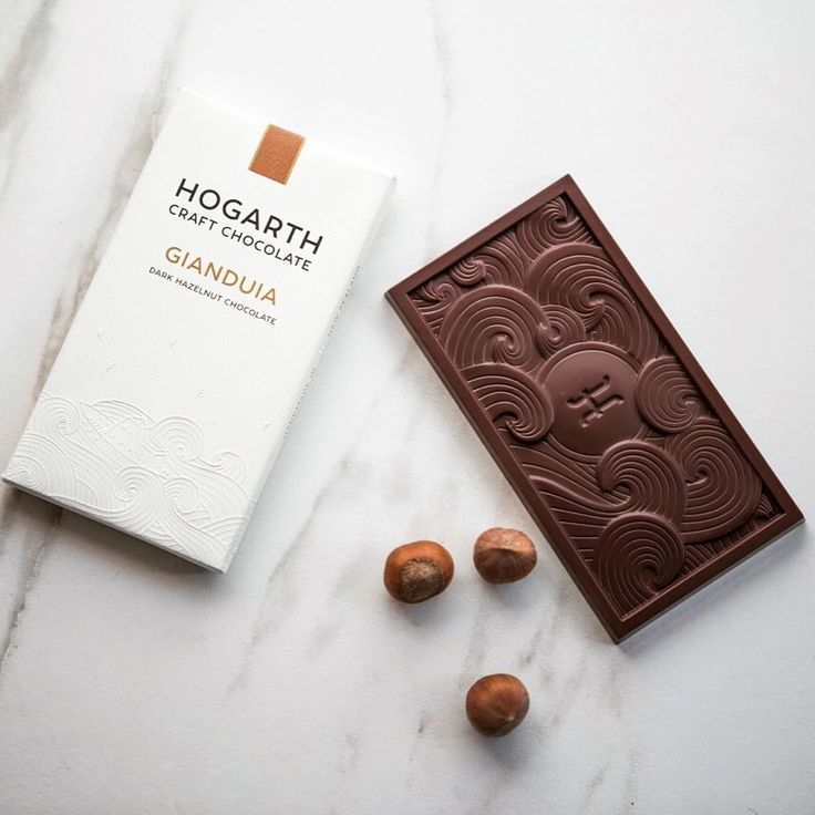 Gianduia - made with local Hazelnuts. Nelson, New Zealand. Hogarth Craft Chocolate.