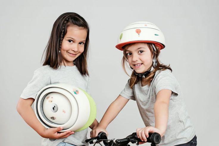 Casco plegable para niños Closca Kids Helmet