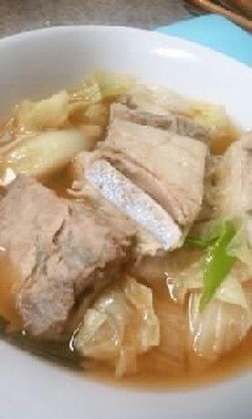 金沢「とり野菜みそ」でブリのアラを煮た!