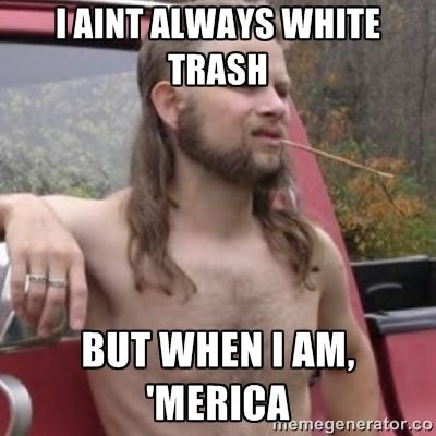 The Ewells could be considered white trash because they were below the hated nigger