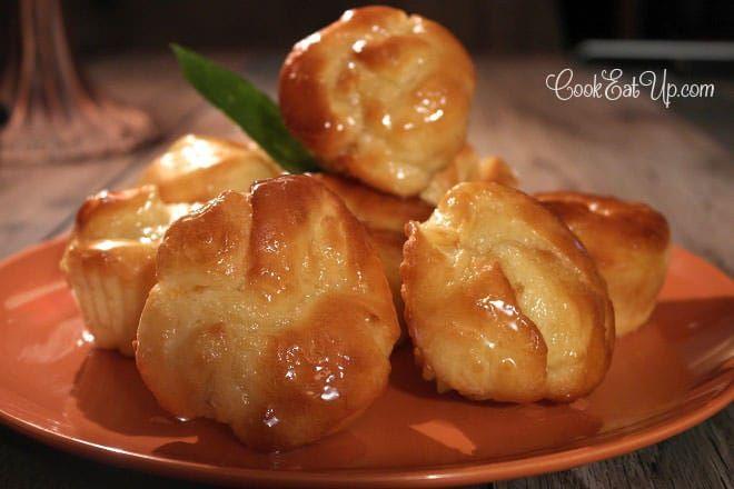 Μυρωδάτα γλυκά ρολάκια πορτοκαλιού που θα λιώνουν σαν αφρός στο στόμα σας!