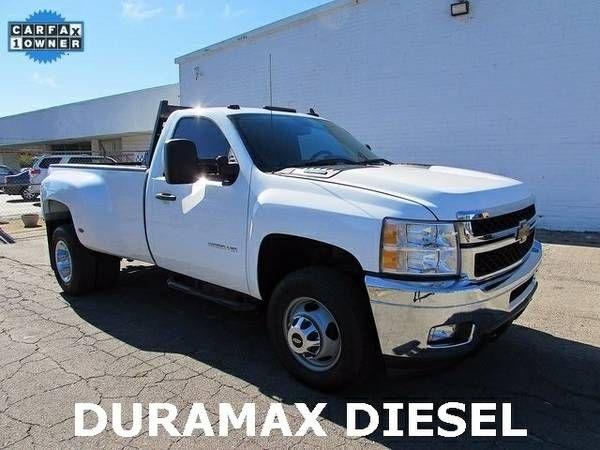 2013 Chevrolet Silverado 3500 44 Diesel Duramax Reg Cab Pickup Truck (27025_We_Finance)