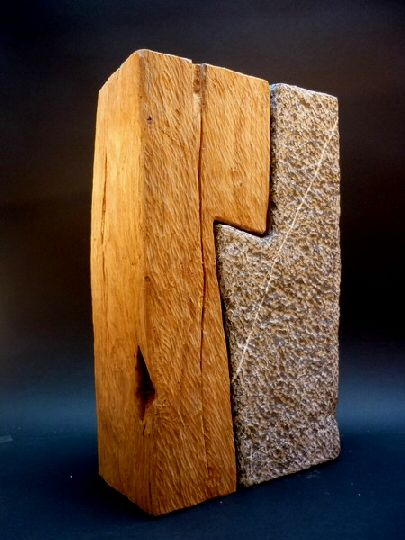 Wood and stone bernard goethals conceptuel