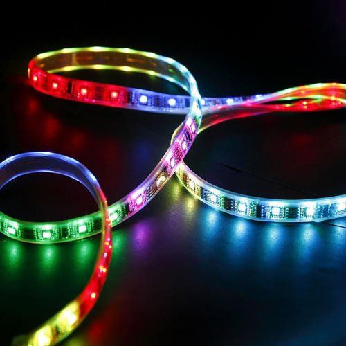 Multi Color (RGB)   Remote 5m LED Strips