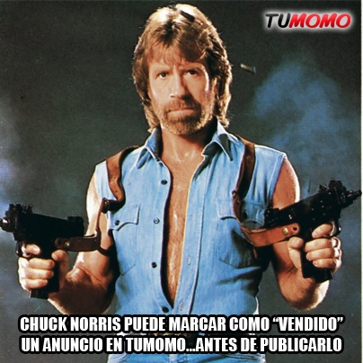 Chuck Norris también visita Tumomo.com