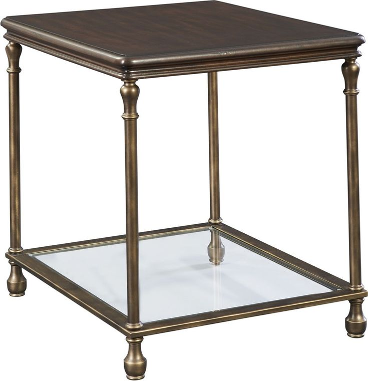 Metal Accent End Table   Find out about this and other well-crafted Thomasville furniture when you visit your nearest Thomasville retailer. There, our designers will help you realize the perfect home that you've always imagined.