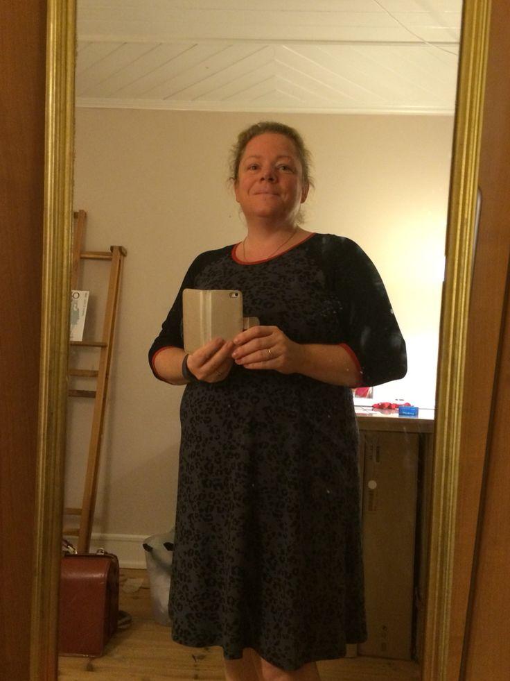 Første kjole til mig selv