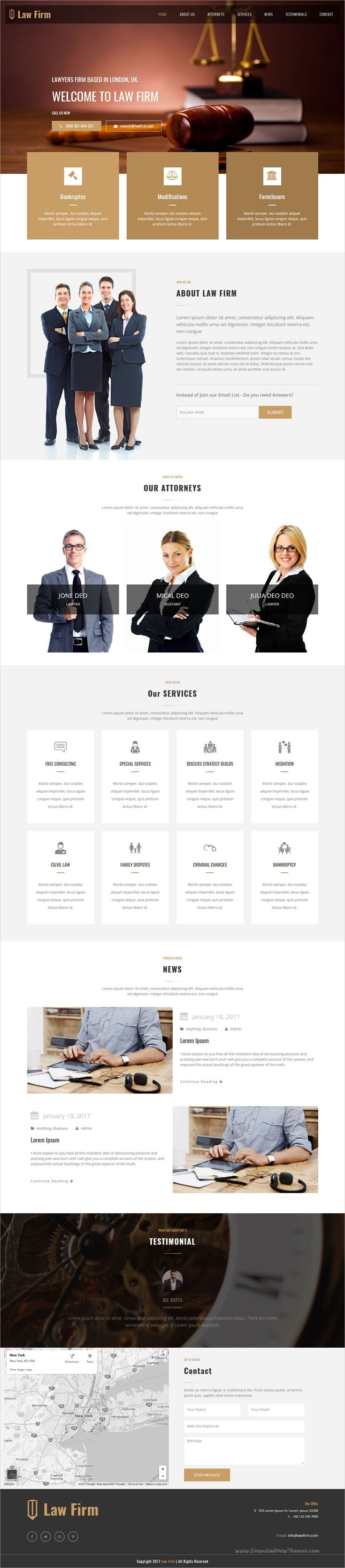 Law firm is a perfect responsive #HTML #bootstrap template for #lawyer, attorney or law firm websites download now➩  https://themeforest.net/item/monster-creative-html-template/19253075?ref=Datasata